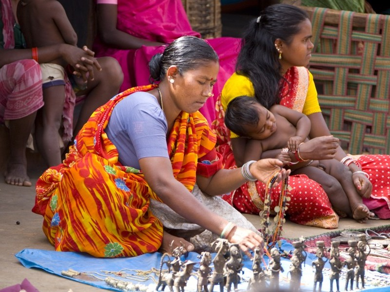Local Crafts Market, Orissa