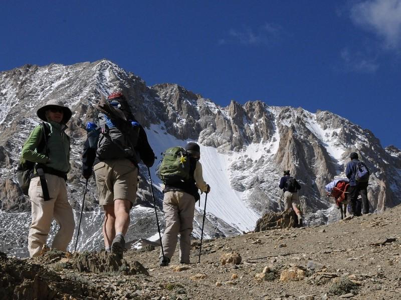 Crossing Kanji La Pass