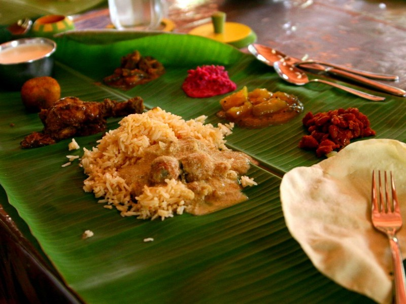 Fancy Chettinad Lunch