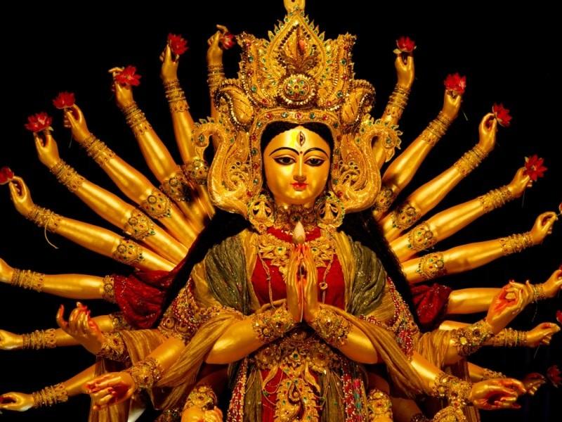 Goddess Durga Idol, Kolkata