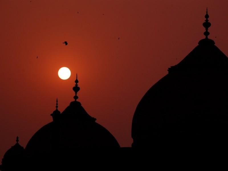Taj at Sunset