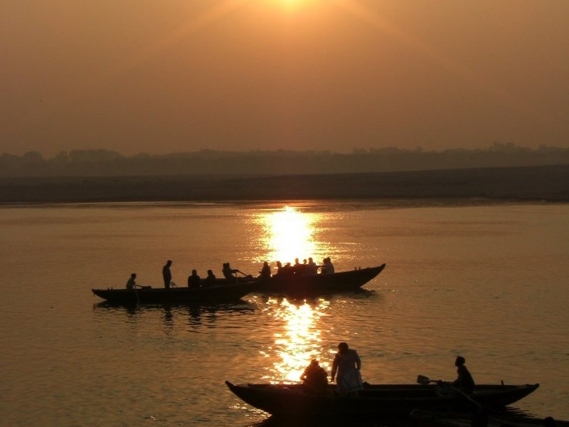 Sunrise over Ganges, Varanasi