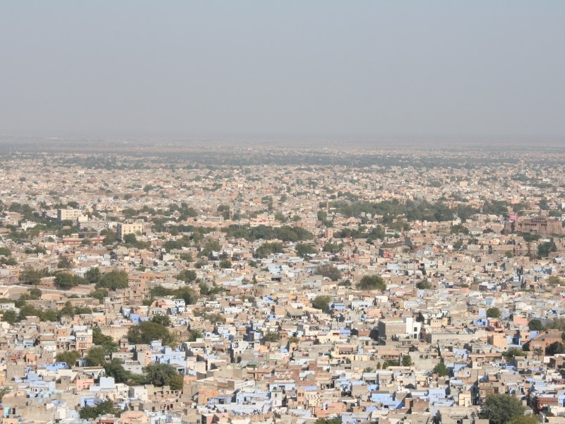 Jodhpur city from Fort