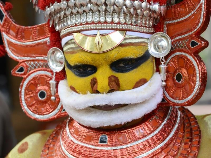 Theyyam Ritual Dancer and Healer