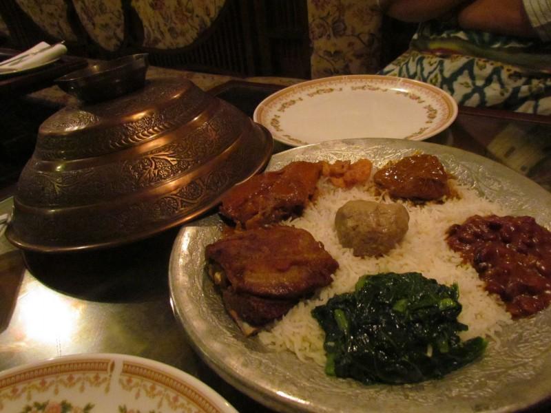 Wazwan, Kashmiri Platter