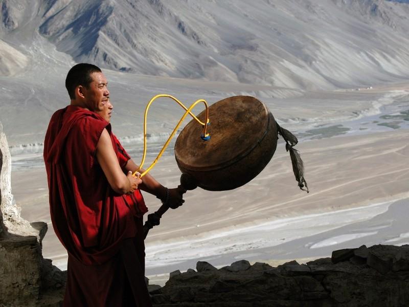 Buddhist Monks, Zanskar Valley