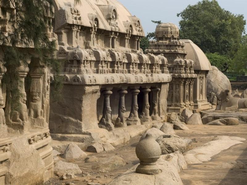 Rock cut architecture, Mahabalipuram