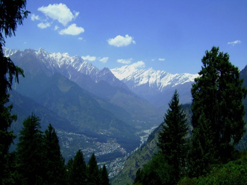 Kulu Valley Panorama, Manali