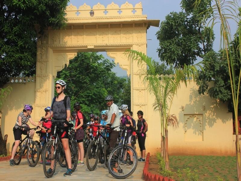 Cycling Group, Rajasthan