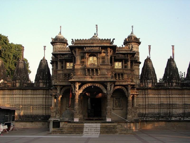 Temple Facade,  Ahmedabad