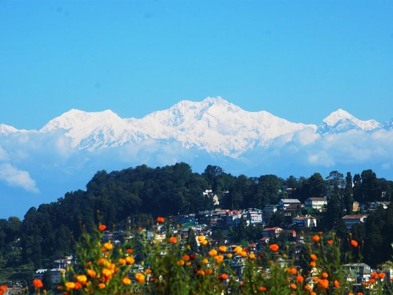 Himalayan Panorama, Darjeeling