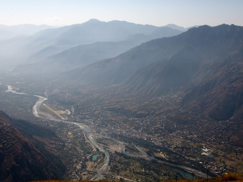 Kullu Valley Panorama