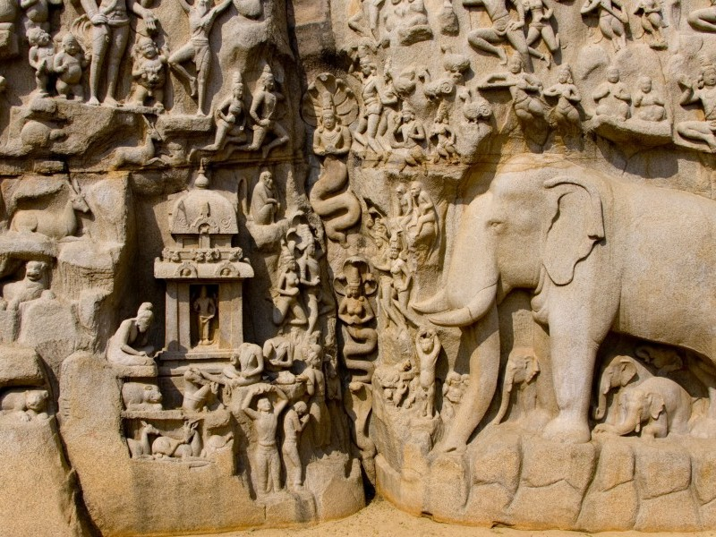 Stone carvings, Mahabalipuram