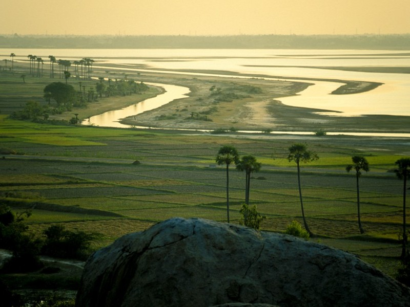 Lush vistas, Mahabalipuram