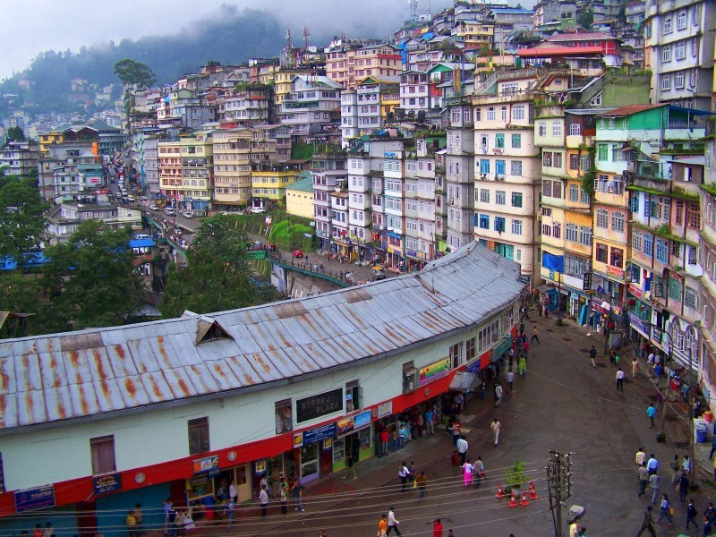 MG Road, Gangtok