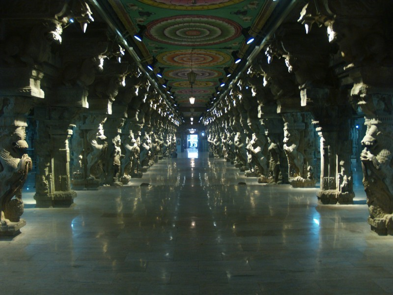 Thousand Pillar Hall, Sri Meenakshi Temple