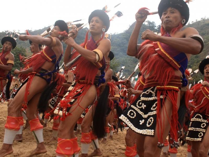 Tribal Dancers, Arunachal