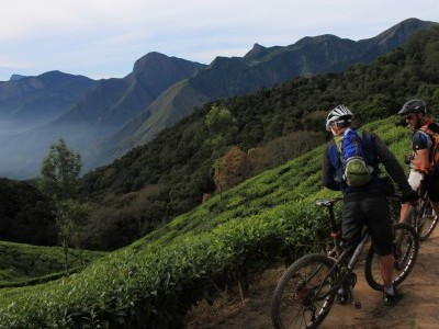 Cycling through tropical Kerala