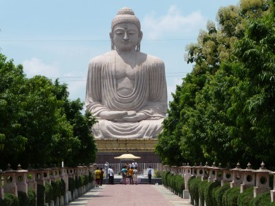 Walking in the Footsteps of Buddha