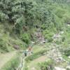 Approaching Kareri village