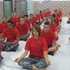 Attending Yoga and meditation classes