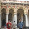 Family visiting Thirumalai Nayak Palace, Madurai