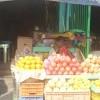 Local fruit market in Madurai