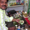 Man Preparing Banarasi Paan
