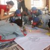 Painting with Lamdon Leh Kids