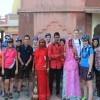 Meeting with locals, Pushkar
