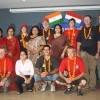 Group photo at Delhi school