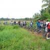 Cycling at Mancombu