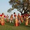 Local dancers, Darjeeling