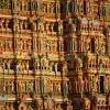 Meenakshi temple detail, Madurai